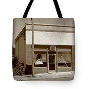 Burlington North Carolina - Small Town Business Tote Bag by Frank Romeo