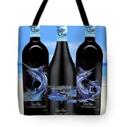 Carey Chen Fine Art Wines Tote Bag by Carey Chen