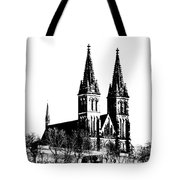 Chapter Church Of St Peter And Paul Tote Bag by Michal Boubin