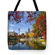Charlotte North Carolina Marshall Park Tote Bag by Jill Lang