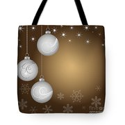 Christmas background Tote Bag by Michal Boubin