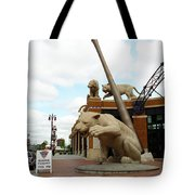 Comerica Park - Detroit Tigers Tote Bag by Frank Romeo