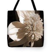 Dahlia Named Platinum Blonde Tote Bag by J McCombie