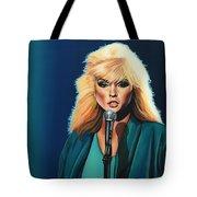 Deborah Harry Or Blondie Tote Bag by Paul Meijering