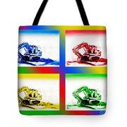 Dozer Mania II Tote Bag by Kip DeVore