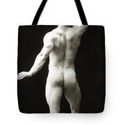 Eugen Sandow In Classical Ancient Greco Roman Pose Tote Bag by American Photographer