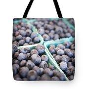 Fresh Blueberries Tote Bag by Edward Fielding