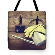 Garden Shed Tote Bag by Amanda Elwell
