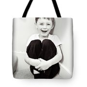 Happy Child Tote Bag by Tom Gowanlock