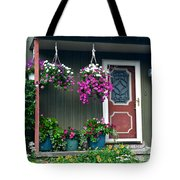 Home Sweet Home Tote Bag by Frozen in Time Fine Art Photography
