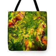 Kelp Forest Tote Bag by Venetta Archer