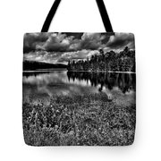 Lake Abanakee In The Adirondacks Tote Bag by David Patterson