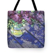 Lilacs Tote Bag by Gloria  Nilsson