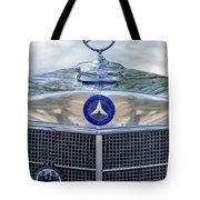 Mercedes-benz Hood Ornament Tote Bag by Jill Reger