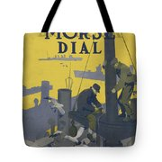 Morse Dry Dock Dial Tote Bag by Edward Hopper