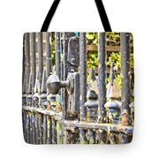 Old Gate Tote Bag by Tom Gowanlock