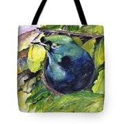 Paradise Bird Tote Bag by Jason Sentuf