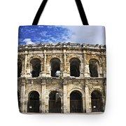 Roman arena in Nimes France Tote Bag by Elena Elisseeva