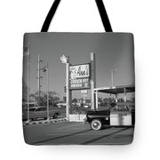 Route 66 - Anns Chicken Fry House Tote Bag by Frank Romeo