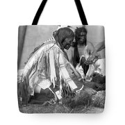 Sioux Medicine Man, C1907 Tote Bag by Granger