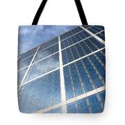 Skyscraper Tote Bag by Michal Bednarek