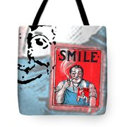 Smile Tote Bag by Edward Fielding
