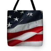 Stars And Stripes Tote Bag by Les Cunliffe