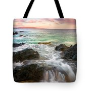 Sunrise Surge Tote Bag by Mike  Dawson