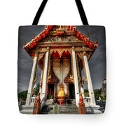Thai Temple Tote Bag by Adrian Evans
