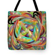 The Braid Tote Bag by Deborah Benoit