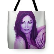 'the First Breath Of Creation' Tote Bag by Christian Chapman Art
