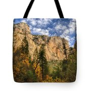 The Hills Of Sedona  Tote Bag by Saija  Lehtonen