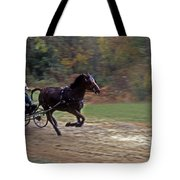 THE RACE IS ON Tote Bag by Skip Willits