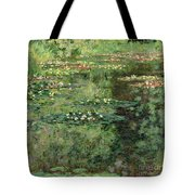 The Waterlily Pond Tote Bag by Claude Monet