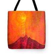 Tres Orejas Original Painting Tote Bag by Sol Luckman