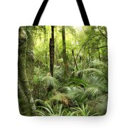 Tropical jungle Tote Bag by Les Cunliffe