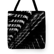 Under The Stairs Tote Bag by David Patterson