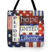 Usa Pride 1 Tote Bag by Debbie DeWitt