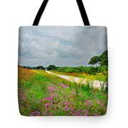 Wildflower Wonderland Tote Bag by Lynn Bauer