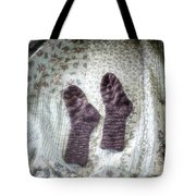 Woollen Socks Tote Bag by Joana Kruse