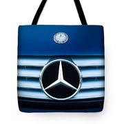 2003 Cl Mercedes Hood Ornament And Emblem Tote Bag by Jill Reger