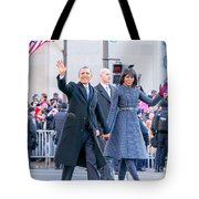 2013 Inaugural Parade Tote Bag by Ava Reaves