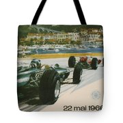 24th Monaco Grand Prix 1966 Tote Bag by Georgia Fowler