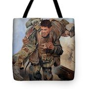 29 Palms Mural 3 Tote Bag by Bob Christopher