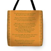 29- The Guest House Tote Bag by Joseph Keane