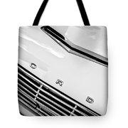 1963 Ford Falcon Futura Convertible Hood Emblem Tote Bag by Jill Reger