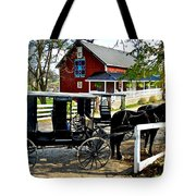 Amish Country Tote Bag by Frozen in Time Fine Art Photography