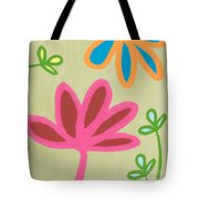 Bali Garden Tote Bag by Linda Woods
