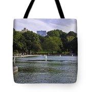 Central Park Pond Tote Bag by Madeline Ellis