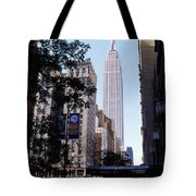 Empire State Building Tote Bag by Jon Neidert